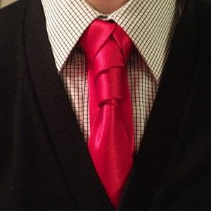 How to Tie the Cosmoknot Necktie Knot