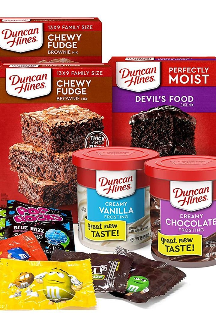 Duncan Hines Is Selling An Ultimate Baking Kit On Amazon And Now I Have Weekend Plans In 2020 Baking Kit Cooking Recipes Devils Food Cake Mix Recipe