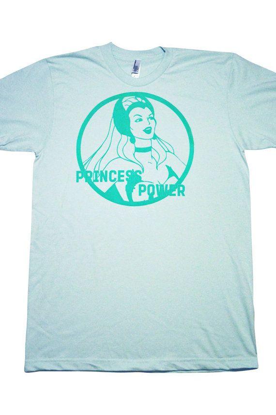 She-Ra Princess of Power T-Shirt  SheRa Printed by TheSpottedBeard