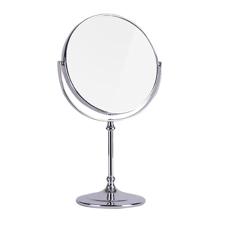 1 pcs New Double Sided High Definition Desktop Mirror European Style 3 Times Magnify Fodable Makeup Mirror Small Round Mirror