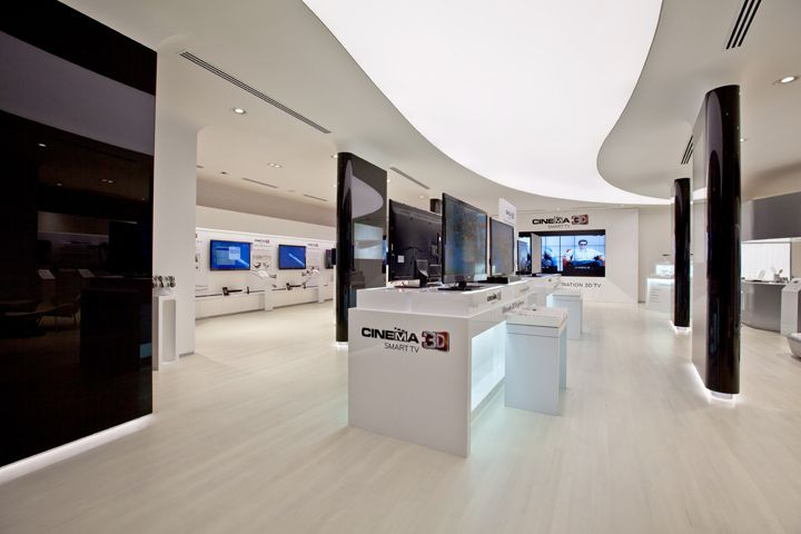 LG retail experience store by Storeage Singapore 02 cliente demayser studio en Bolivia LG