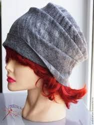 Картинки по запросу валяная шапка выкройка