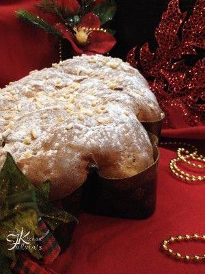 Brioche vegana Albero di Natale con frutta disidratata Fulvia's Kitchen