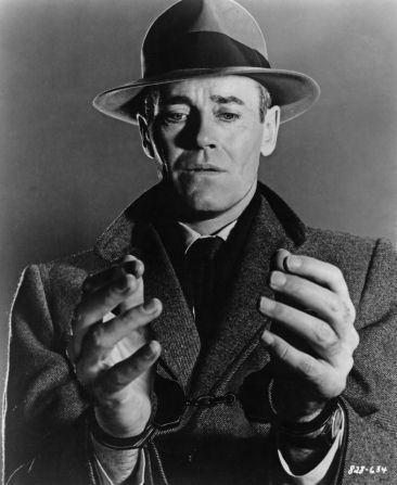 THE WRONG MAN (1955) - Henry Fonda - Directed by Alfred Hitchcock - Warner Bros. - Publicity Still.