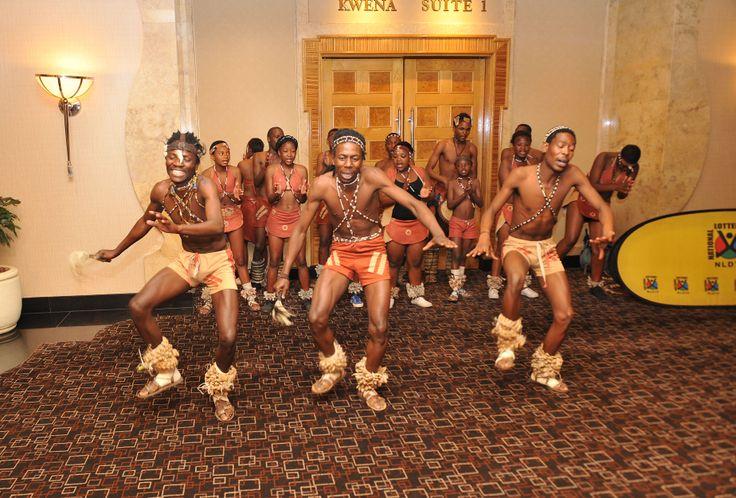 Setswana Cultural Dancers