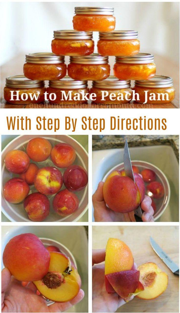 Earlier in the week I purchased 50 pounds of peaches at my local grocery store for $.79 a lb.  I canned a dozen jars of peaches the other day, but I still have a counter top full of them, so I decided to go ahead and whip up a couple of batches of peach jam this …