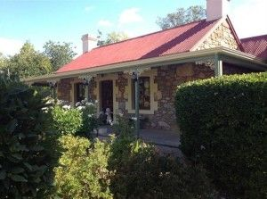 "Barossa Real Estate – ""Field Of Dreams"". An enchanting and restored 1850's Cornish Cottage is one that will bring a sense of heritage and win your heart with its original features and ever-changing shades of its wonderful botanical setting."