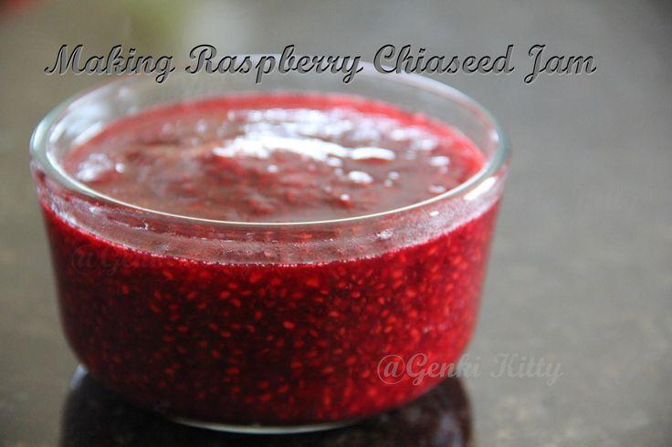 Raspberry Chiaseed Jam Recipe Vegan