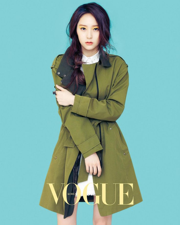 f(x) Krystal - Vogue Magazine March Issue '13