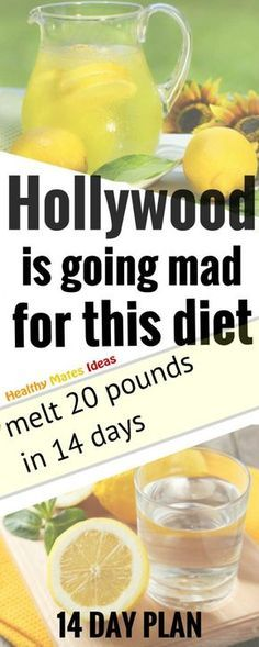 HOLLYWOOD IS GOING MAD FOR THIS DIET THAT MELT 20 POUNDS IN 14 DAYS!