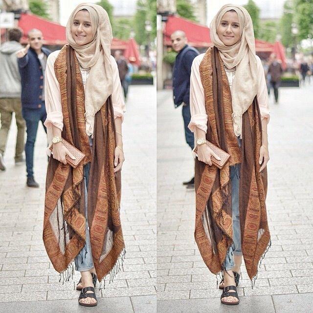 Dina Tokio ♥ Muslimah fashion  hijab style                cool:))