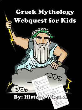 greek gods webquest