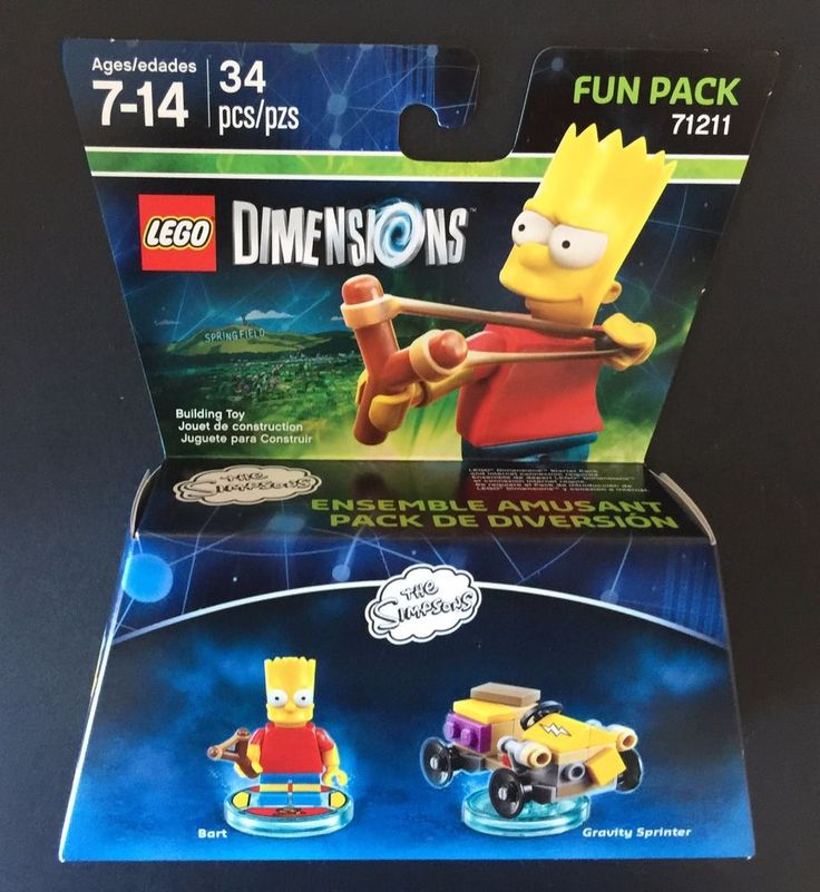 Bart & Gravity Sprinter. Interactive Entertainment for the PlayStation 4, PlayStation 3, Wii U, Xbox One and Xbox 360. The Simpsons. video game enthusiast for the video game Lego Dimensions. I LOVE GOOD STUFF! | eBay!
