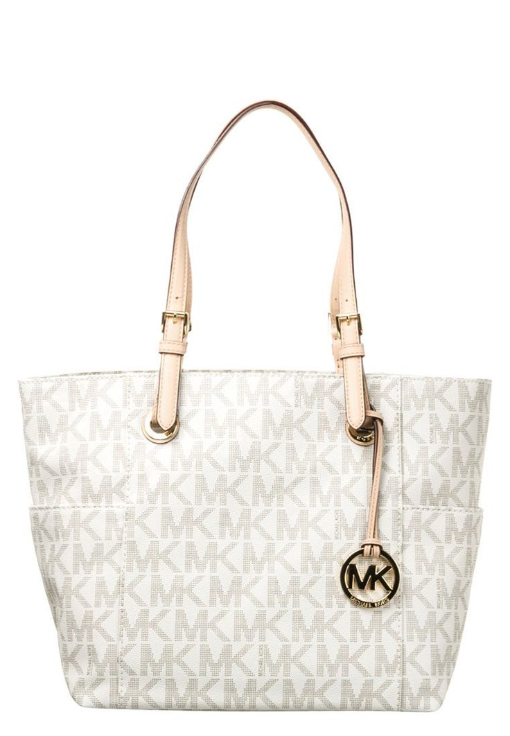 MICHAEL Michael Kors JET SET Shopping Bag vanilla | Stylaholic #michaelkors #bags #taschen #mode #fashion #luxury #sexy #trend #look #outfit