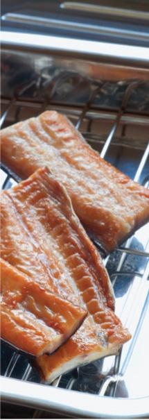 Ahika-Kai. Ngai Tahu smoked Tuna (eel). Tuna is the Māori word for eel.