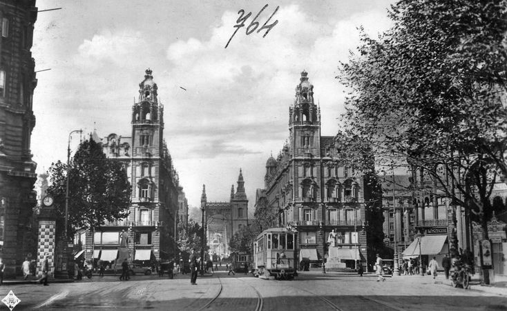 1929, Apponyi tér (Ferenciek tere), 4. (1950-től) V. kerület