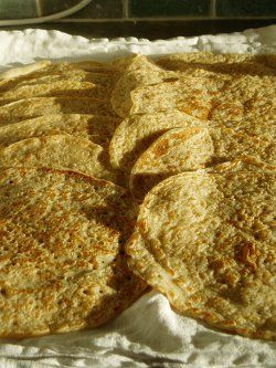Staffordshire Oatcakes  ...like a yeasted oat crepe