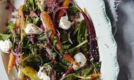 lentil and carrot salad-10 best recipes
