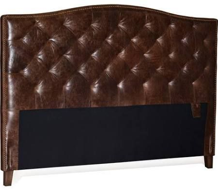 antique leather headboard king - Google Search