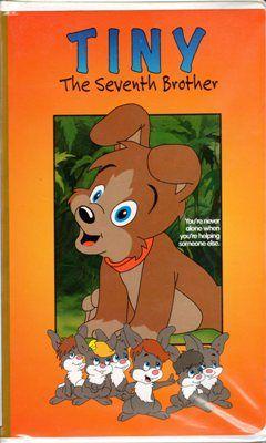 Tiny The Seventh Brother VHS Movie Kurt Bestor Merrill Jenson