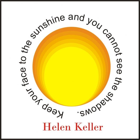 deaf blind quotes | Inspirational Quotes By Helen Keller