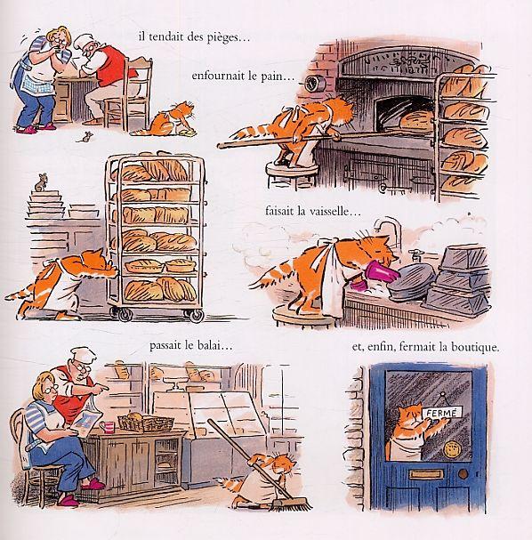 Serie Le Chat du Boulanger [Librairie La Bande Dessinée, une librairie du réseau Canal BD]