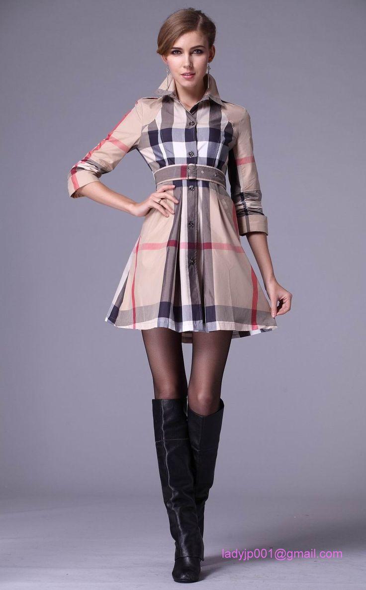 大胆なチェックがラグジュあり間を演出♡バーバリーチェックのコーデ。参考にしたいスタイル・ファッション♡