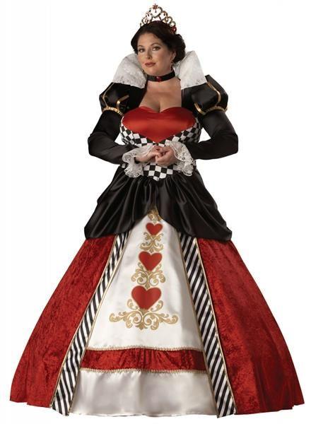 Красная королева новогодний костюм для взрослых
