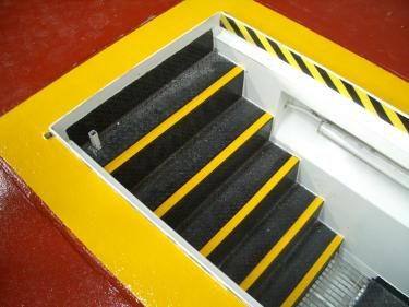 Anti-slip stair treads an ultimate floor safety system. It saves people from slipping and tripping down in slippery floors.