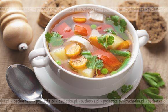 Zupa jarzynowa wieloskładnikowa