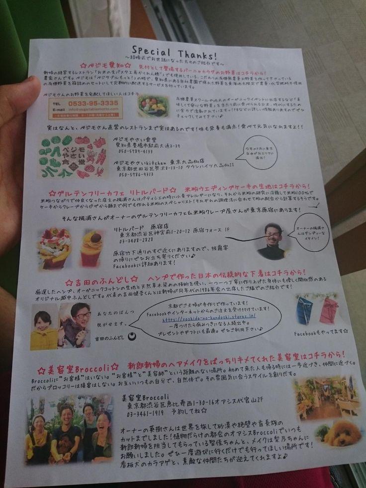 ご協力者の紹介リスト