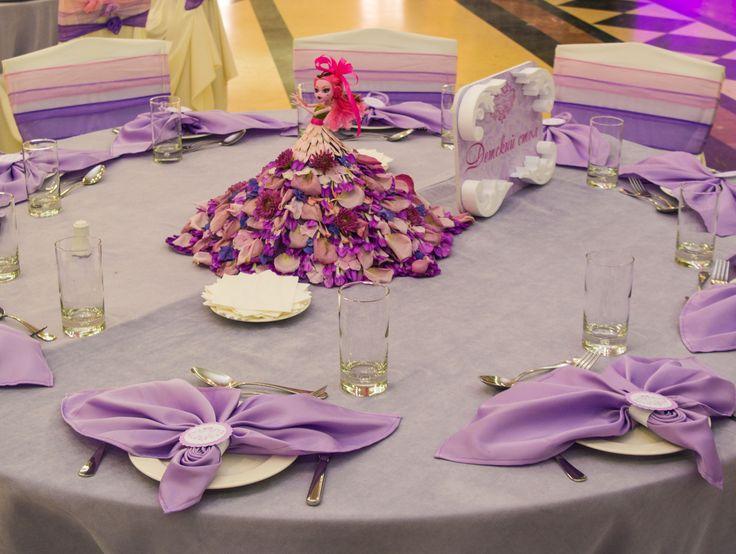 Детский стол на свадьбе