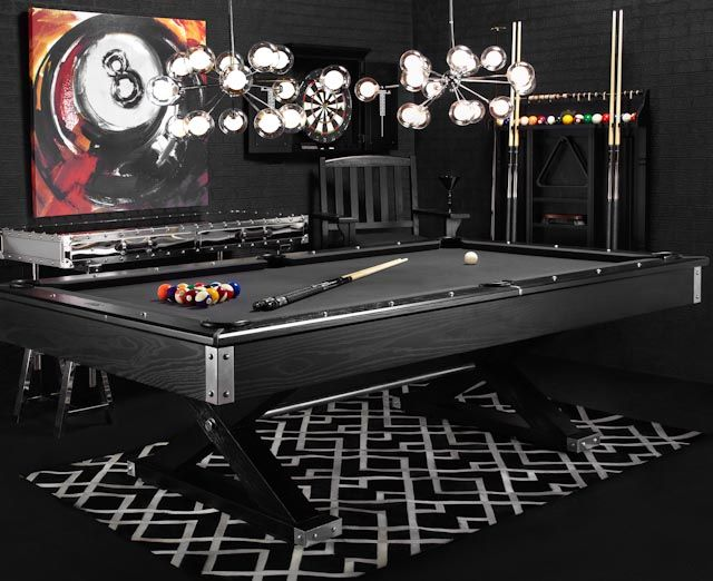 Meticulously engineered and solidly built, our Jaxxon Pool Table promises to be the center of lively gatherings for decades to come.