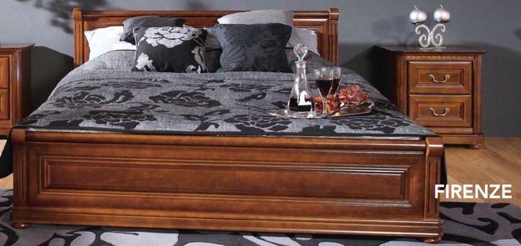Stylowa sypialnia dla wielbicieli piękna w klasycznym wydaniu. http://www.meble-nowrot.pl/wyprzedaze