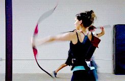 Behind the scenes of The Hunger Games: Catching Fire -- wow. very katniss. much fierce.