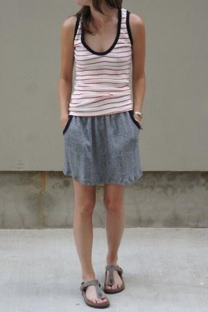Edith A. Miller Sammy Skirt: Sammi Skirts Repin, Fashion, Edith, Clothing, Summer Style, Women Skirts, Stripes Tanks, Skirts Repin By Pinterest, Miller Sammi