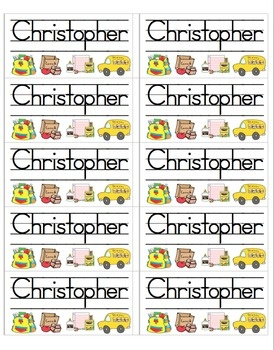 3 page file with 30 name labels.  Just type in your students' names to create your own labels for anything: cubbies, journals, homework folders, et...: By Pinterest, Classroom Cubbies, Schools Labels, Student, Homework Folders, Et Repin, Classroom Labels, Classroom Organizations, Classroom Management