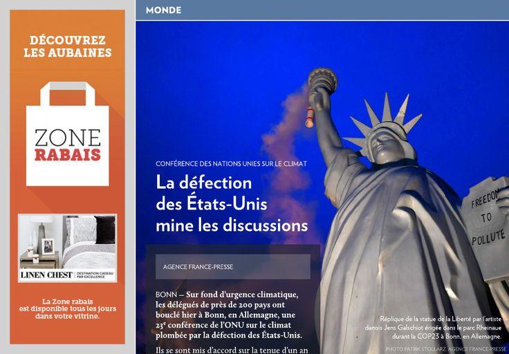 La défection des États-Unis mine les discussions - La Presse+