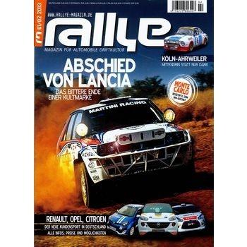 Rallye - das Magazin: mehr Benzin geht fast nicht auf einem Cover!  Das ist echt cool.  Hol Dir Rallye im Zeitungsladen