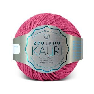 Zealana KAURI Worsted K11 Pink Roha