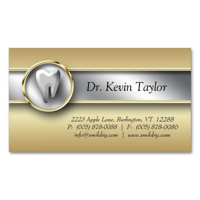 2017 best Dental Dentist Business Cards images on Pinterest ...