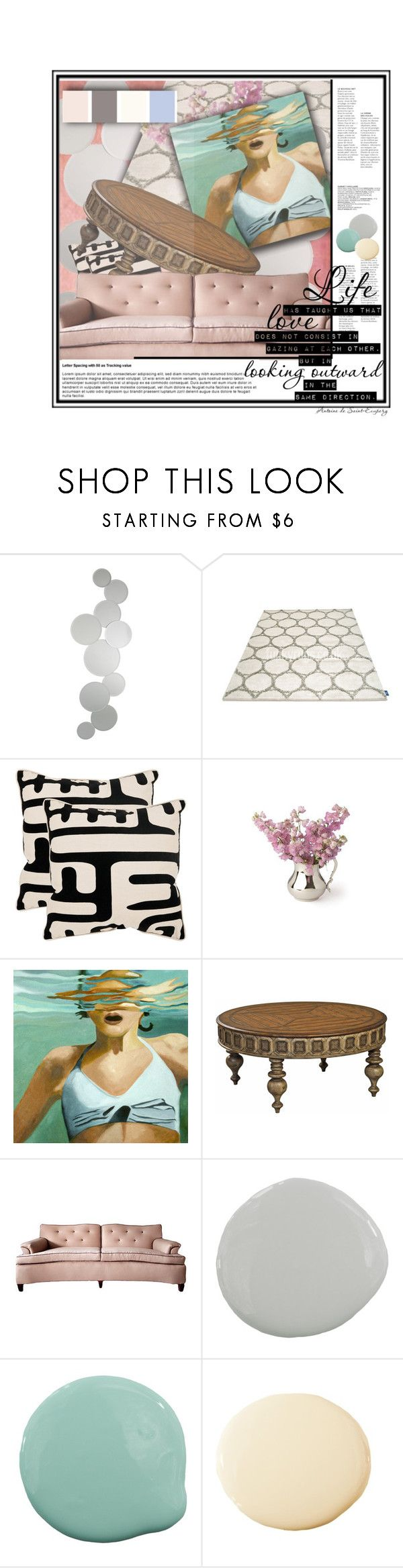 """looking outward."" by mercimasada ❤ liked on Polyvore featuring interior, interiors, interior design, home, home decor, interior decorating, John Lewis, Joseph Abboud, Safavieh and Ambella"