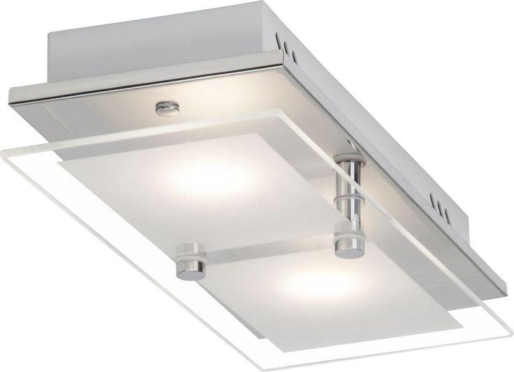 LED-plafondlamp 10 W Warmwit Chroom Brilliant G10429/15