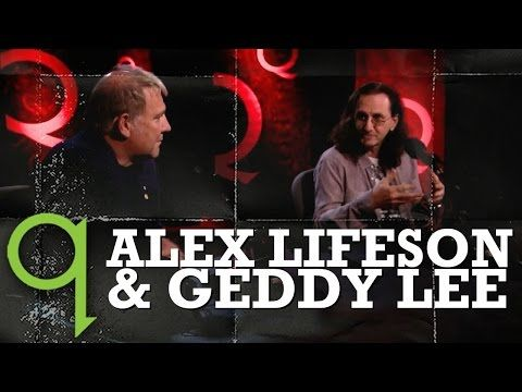 Rush's Geddy Lee and Alex Lifeson in Studio Q - YouTube