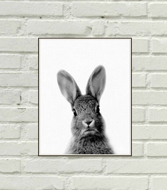 Hey, I found this really awesome Etsy listing at https://www.etsy.com/listing/504220342/bunny-print-woodlands-nursery-art-rabbit