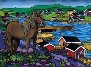 Newfoundland Pony by Reilly Fitzgerald.