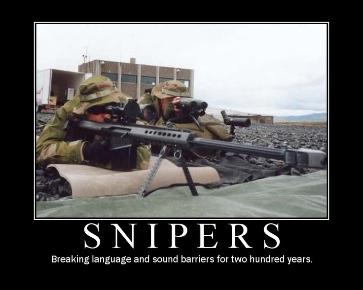 Yeah baby!Funny Pics, Snipers Wait, So True, Yeah Baby, Things Military, True Compass, Awesome Sauces, True Stories, Awesome Buckets