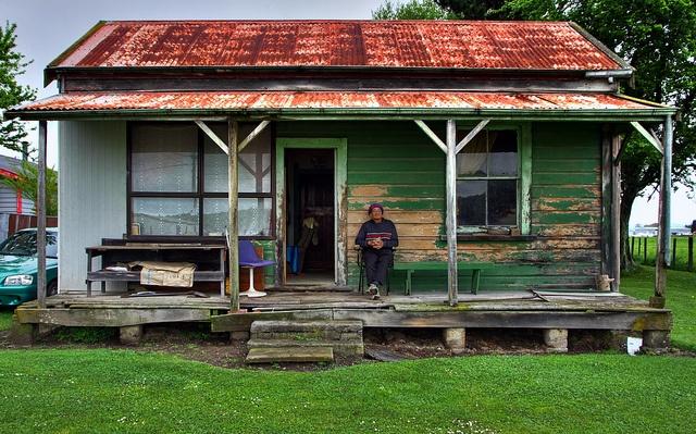 Old house, Takapau Rd, Waipukurau, Hawkes Bay, New Zealand (from the New Zealand Geographic Jan-Feb 2013)