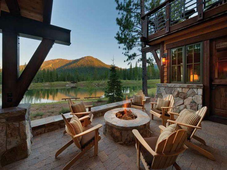 Small Lake Homes | Retirement Small Lake Home Plans