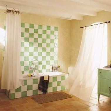 59 best couleurs peinture papier peint et carrelage images on ... - Repeindre Un Carrelage De Salle De Bain